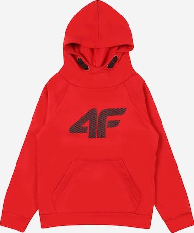 4F Sportsweatshirt in rot / schwarz, Produktansicht