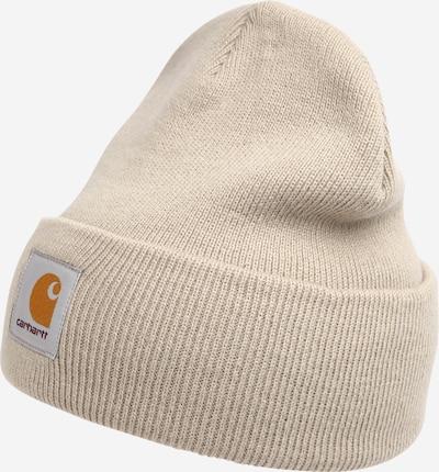 Carhartt WIP Cepure 'Short Watch', krāsa - bēšs / oranžs / balts, Preces skats