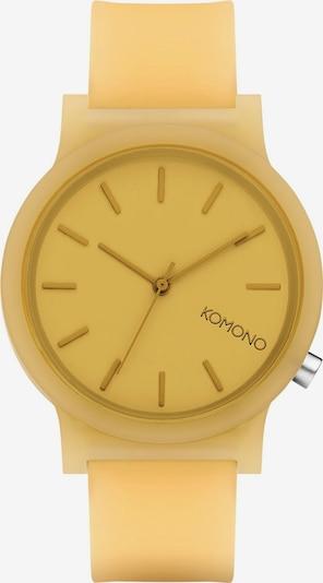 Komono Analog Watch ' ' in Yellow, Item view