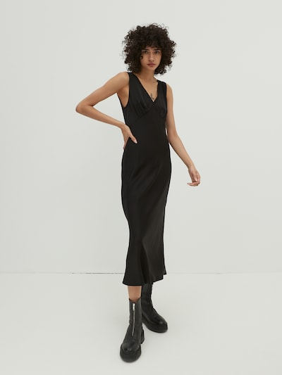 EDITED Šaty 'Margo' - čierna, Model/-ka
