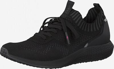 Tamaris Fashletics Sneakers laag in de kleur Zwart, Productweergave
