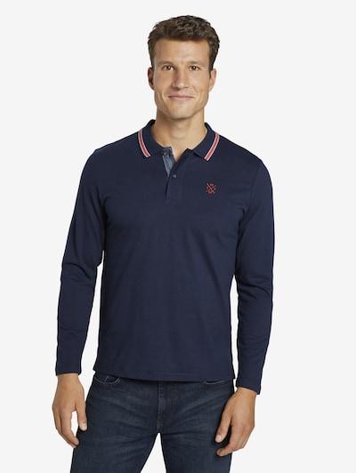 TOM TAILOR Shirt in de kleur Blauw: Vooraanzicht