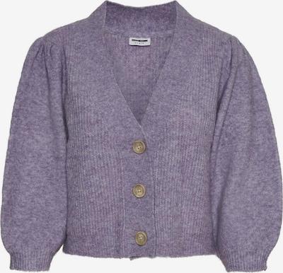 Noisy may Cardigan en violet pastel, Vue avec produit