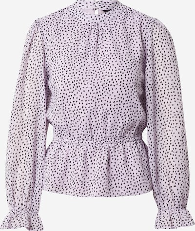 NEW LOOK Shirt 'PEPLUM FRILL' in lila, Produktansicht