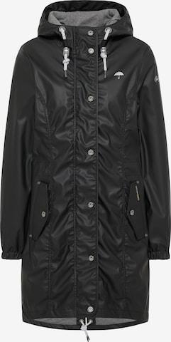 Manteau outdoor Schmuddelwedda en noir