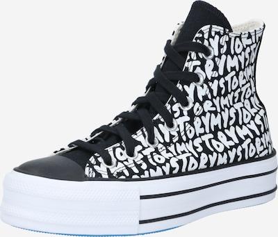 Sneaker înalt 'CHUCK TAYLOR ALL STAR PLATFORM MY STORY - HI' CONVERSE pe bej / negru, Vizualizare produs