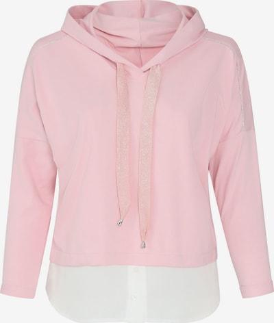 Paprika Sweatshirt in pink / weiß, Produktansicht