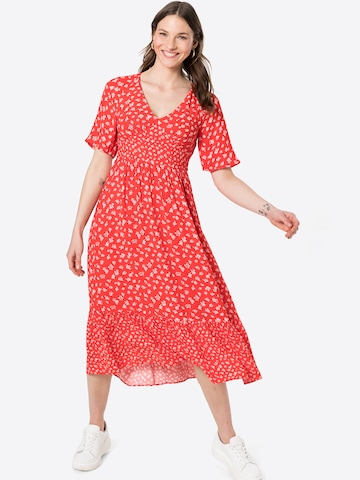 FRENCH CONNECTION Dress 'FAYOLA' in Red
