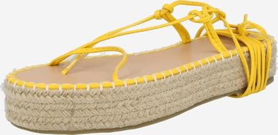 BEBO Sandale 'LARSEN' in gelb, Produktansicht