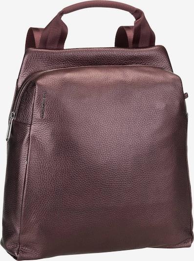 MANDARINA DUCK Daypack ' Mellow Leather Lux Backpack ZLT66 ' in aubergine, Produktansicht
