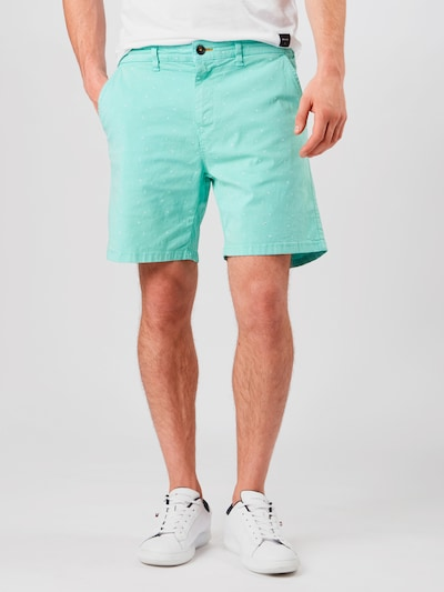 Shiwi Shorts 'Jack' in türkis / weiß, Modelansicht