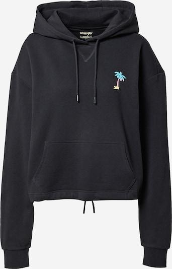 WRANGLER Sweatshirt 'DRAWCORD' i blandade färger / svart, Produktvy