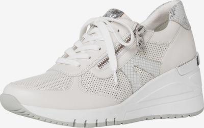 MARCO TOZZI by GUIDO MARIA KRETSCHMER Sneaker in silber / weiß, Produktansicht