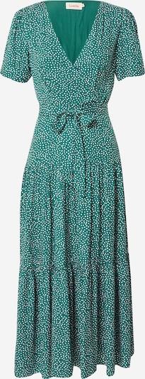 Louche Dress 'EMIN' in Green / White, Item view