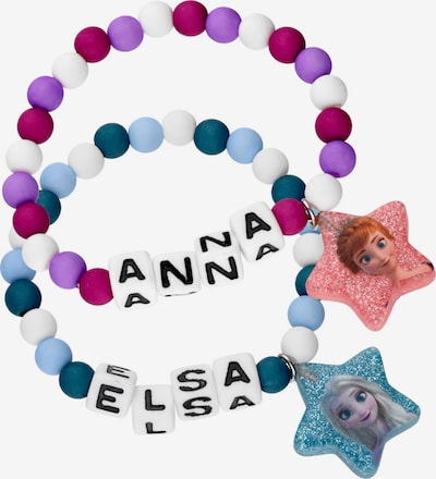 Six Armbänder 'Elsa und Anna' in mischfarben, Produktansicht