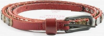 PINK Nietengürtel in XS-XL in rot / silber, Produktansicht