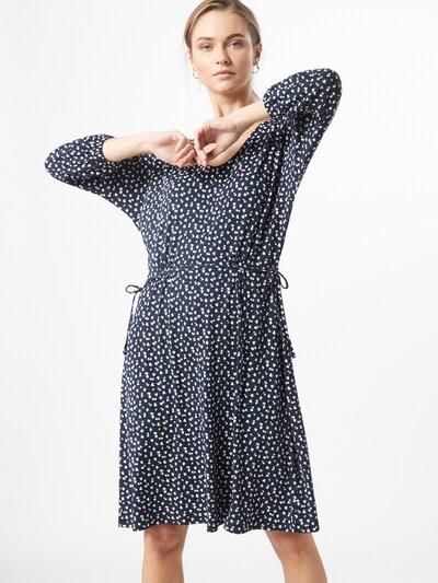 ESPRIT Kleid in navy / petrol / weiß, Modelansicht