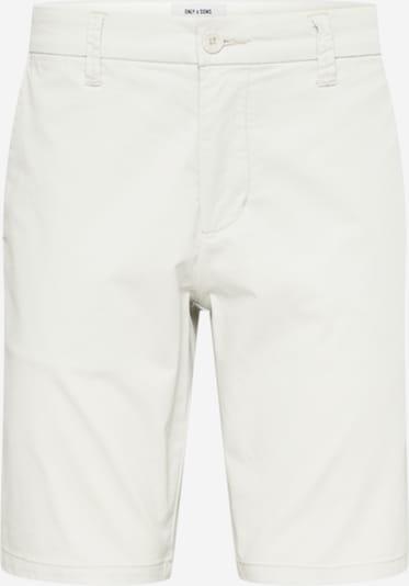 Only & Sons Broek in de kleur Offwhite, Productweergave