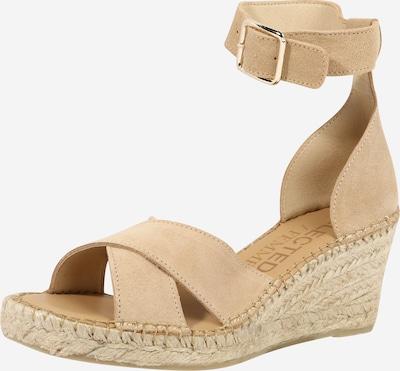 SELECTED FEMME Sandale 'SLFESTHER' in beige, Produktansicht