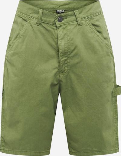 Urban Classics Jeans cargo en vert clair, Vue avec produit