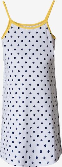 BLUE SEVEN Kleid in navy / gelb / weiß, Produktansicht