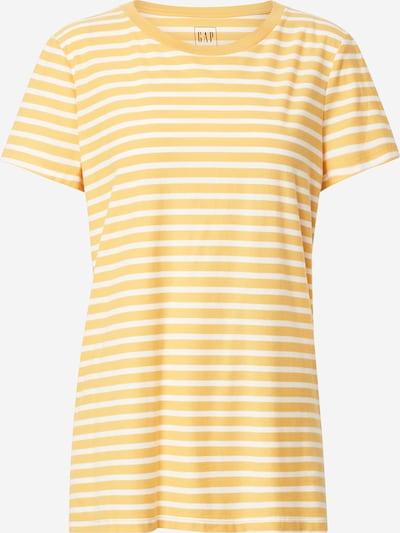 GAP T-shirt en jaune / blanc, Vue avec produit