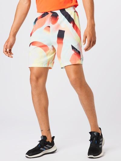REEBOK Sportovní kalhoty 'Austin' - světlemodrá / mátová / oranžová / grenadina / burgundská červeň, Model/ka