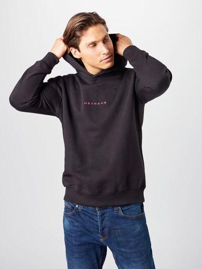 Mennace Sweater majica u roza / crna: Prednji pogled