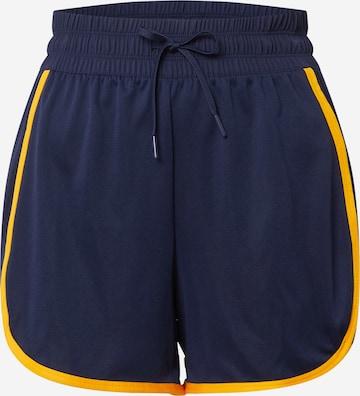 Pantalon de sport Reebok Sport en bleu
