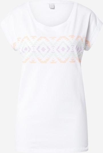 Tricou 'Lettie Stripe' Iriedaily pe verde / lila / portocaliu / alb, Vizualizare produs