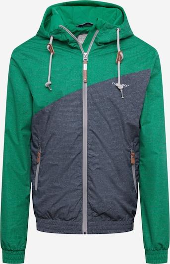 Ragwear Jacke 'NUGGET' in grau / grün, Produktansicht
