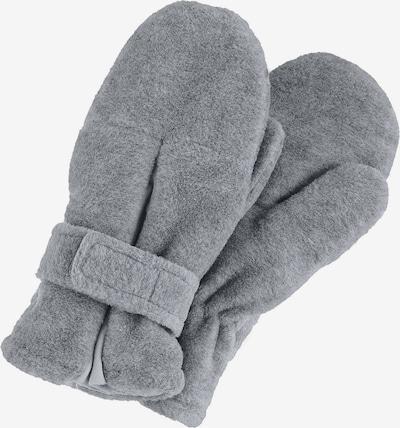 STERNTALER Handschuhe 'Fäustel' in silbergrau, Produktansicht