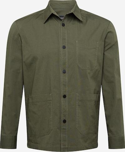 DRYKORN Риза 'LAWEE' в зелено: Изглед отпред
