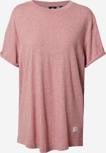 G-Star RAW Shirt in beige / rosé: Frontalansicht