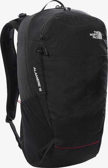 THE NORTH FACE Sportrugzak 'Basin 18' in de kleur Zwart / Wit, Productweergave
