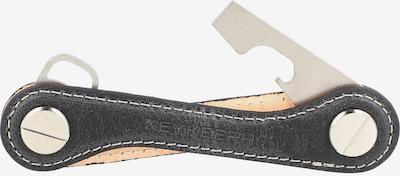 Keykeepa Schlüsselmanager 'Leather' in schwarz, Produktansicht