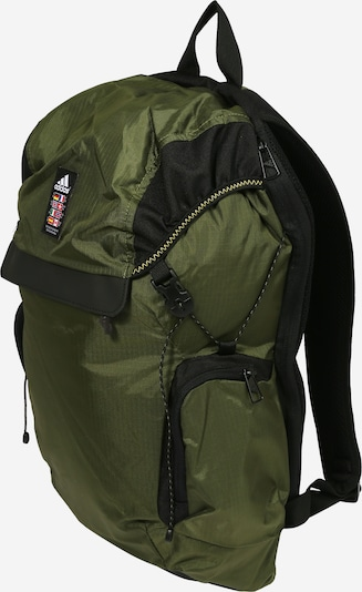 ADIDAS PERFORMANCE Sports backpack 'Explorer' in Khaki / Black / White, Item view