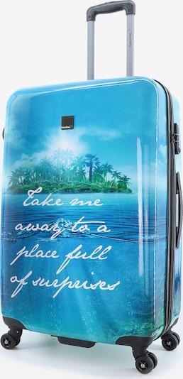 Saxoline Blue Reisegepäck 'Island' in blau, Produktansicht