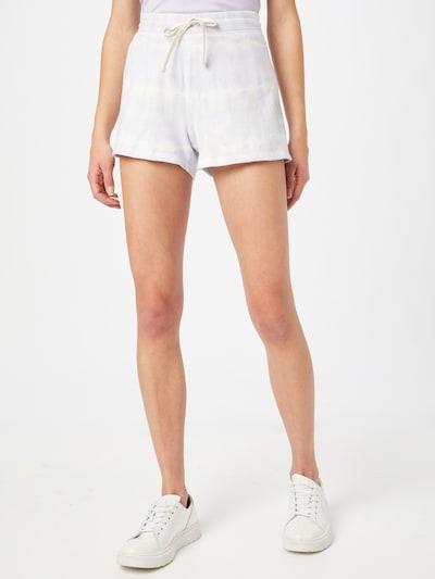GAP Pantalon en lavande / blanc, Vue avec modèle