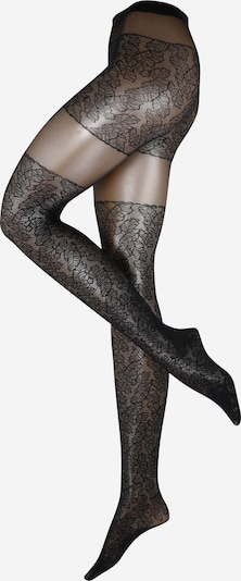 FALKE Fine tights 'Leaves Dream' in night blue, Item view