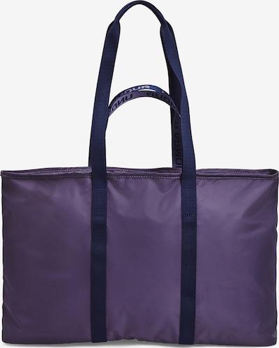 UNDER ARMOUR Sporttas in de kleur Lila / Zwart, Productweergave