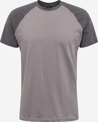 Urban Classics Shirt 'Raglan Contrast Tee' in dunkelgrau, Produktansicht