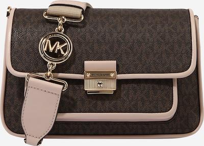 MICHAEL Michael Kors Чанта за през рамо тип преметка в шоколад / пудра, Преглед на продукта
