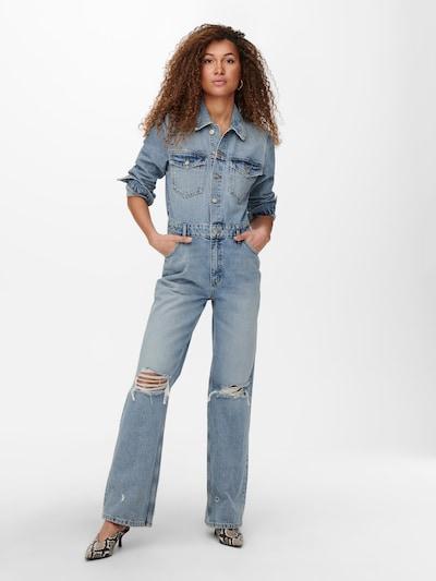 ONLY Jumpsuit 'INC DREA' in blue denim, Modelansicht