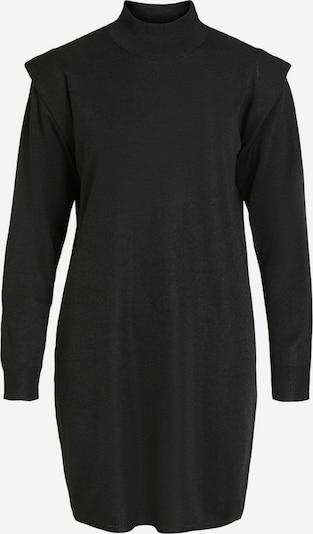 Rochie tricotat OBJECT pe negru, Vizualizare produs