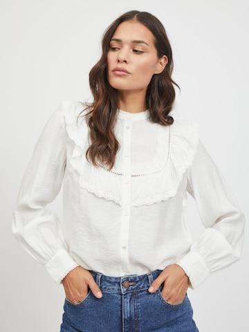 VILA Bluse 'Lenea' in Weiß