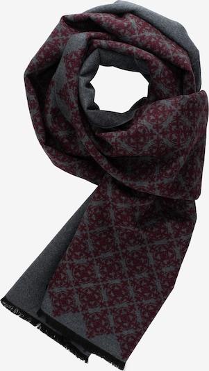 ETERNA Sjaal in de kleur Grijs / Bordeaux, Productweergave