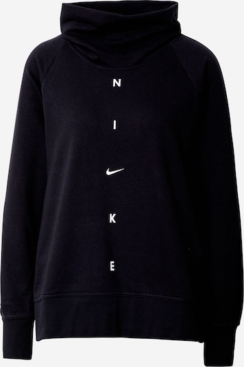NIKE Sweatshirt 'Get Fit' in schwarz / weiß, Produktansicht