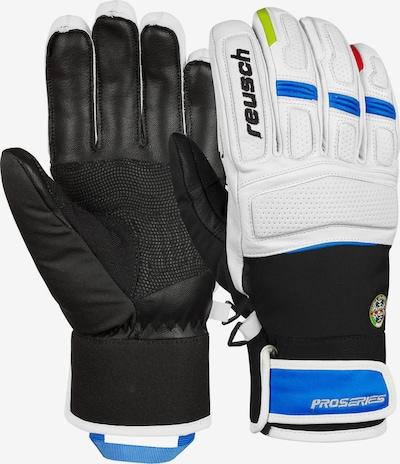 REUSCH Fingerhandschuhe 'Maestro R-Tex® XT' in schwarz / weiß, Produktansicht