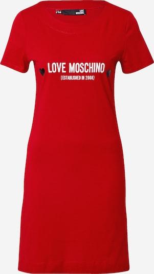 Love Moschino Kleid in rot / weiß, Produktansicht